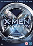 X-Men Quadrilogy - X-Men, X-Men 2, X-Men: The Last Stand, X-Men Origins: Wolverine [DVD]