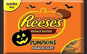 Reese's Halloween Peanut Butter Pumpkins, 19.2 Ounce Bag