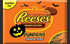 Reese's Halloween Peanut Butter Pumpkins, 19.2-Ounce Bags (Pack of 3)
