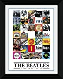 GB eye 16 x 12-inch The Beatles Through The Years Framed Photograph, Assorted