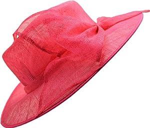 Giovannio Womens Fuschia Church/ Dress Easter Hat