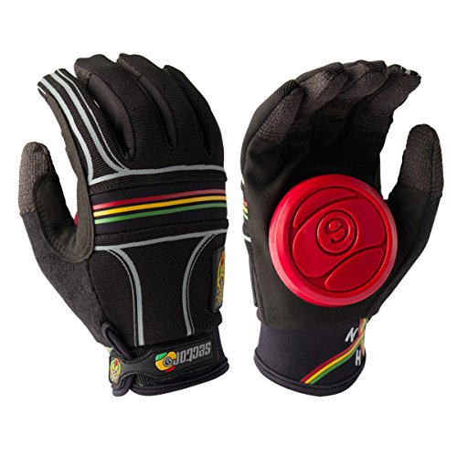 Sector 9 BHNC Slide Glove, Rasta, Large/X-Large