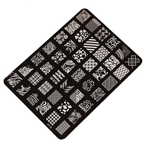 Susenstone-Estamper-Impression-Plaque-Image-Timbres-Plaque-Manucure-Nail-Art-Dco-des-Ongles