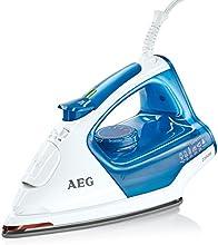 AEG Dampfbügeleisen 4Safety PLUS DB 5220 (2300 Watt, 110g Dampfstoß, Glissium 80 Bügelsohle, Abschaltautomatik, Anti-Kalk System) blau/weiß