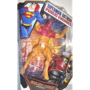 Mattel DC Superman Batman Public Enemies Action Figure Major Force Build Brimstone Piece!