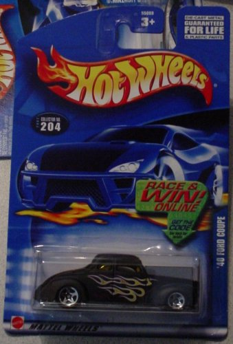 Hot Wheels '40 Ford Coupe 2002 #204 1:64 Scale - 1