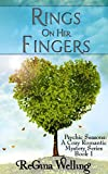Rings On Her Fingers (Psychic Seasons - A Cozy Romantic Mystery Series Book 1)