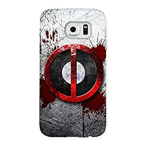 Gorgeous Bleed Dead Multicolor Back Case Cover for Samsung Galaxy S6