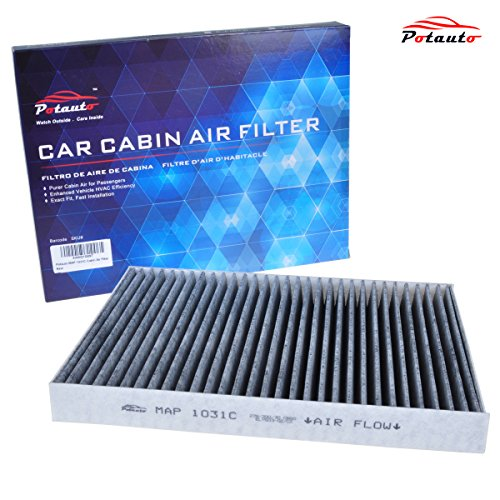 POTAUTO MAP 1031C Heavy Active Carbon Car Cabin Air Filter Replacement compatible with CHRYSLER, 300, DODGE, Challenger, Charger