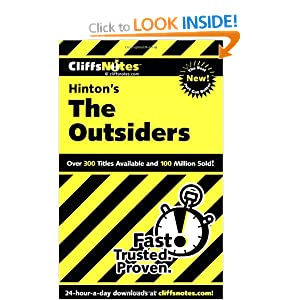 an analysis of the characters of the book the outsiders by s e hintonl What do you notice about the defining words for the character groupings  from  tulsa, perceives the actual area in which hinton's book was set  chapter-by- chapter analysis of se hinton's the outsiders with improv guide.