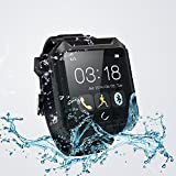 Qkking Deluxe Edition U TERRA Watch Travel Tricks 2.0 inch 1.3 MP Ip68 Waterproof Shockproof Dustproof Bluetooth 4.0 Smart Watch Smartwatch Touch Screen for Samsung Galaxy Note 4/3/2 S6/S6 Edge/S5/S4/S3/S2 Sony Xperia Z4/Z3/Z2 HTC ONE M7/M8/M9 LG G2/G3/G4