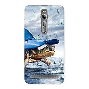Gorgeous Wow Turtle Multicolor Back Case Cover for Asus Zenfone 2