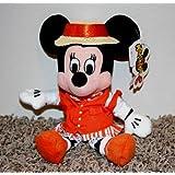 "Disney Minnie Mouse Quartet Barber Shop 8"" Plush Bean Bag Doll"