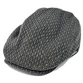 (ビッグワッチ)BIGWATCH  カーボン ハンチング ブラック黒 GHN-01 大きいサイズ 帽子