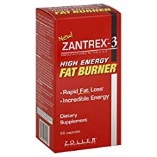 Zantrex 3 Fat Burner, High Energy, Capsules, 56 capsules