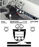 Prewoodec Cockpit Dekor f�r Daewoo Nubira Kombi - ab 07.2004 Galaxy Black (Exklusive 3D Fahrzeug-Ausstattung - Made in Germany)