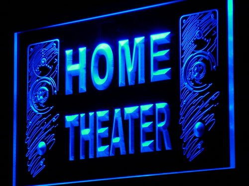 Adv Pro J108-B Home Theater Speaker Hi Fi Audio Neon Light Sign