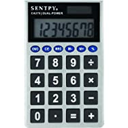 Sentry Industries CA279 Jumbo Key Pocket Calculator