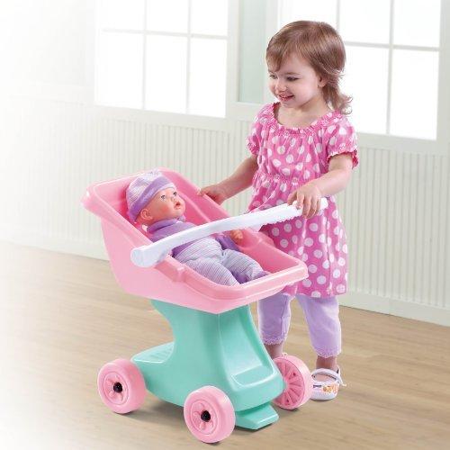 Step2 Little Helper?S Doll Stroller Toy, Kids, Play, Children front-768881