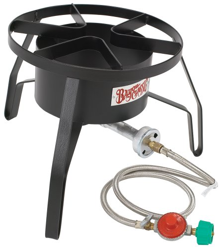 Bayou Classic SP10 High-Pressure Outdoor Gas Cooker, Propane (Propane Fryer Burner compare prices)