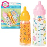 BABYDOLL Magic DOLL Bottles SET Of Two MILK & Juice girls toy