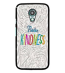 PrintDhaba Quote D-2933 Back Case Cover for MOTOROLA MOTO G2 (Multi-Coloured)