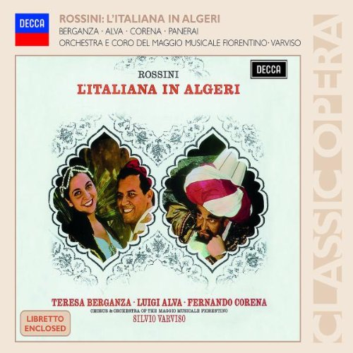 La Italiana El Argel (Teresa Berganza) - Rossini - CD