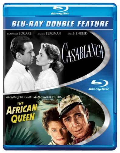 Casablanca (1942) / The African Queen (1951) [Blu-ray]