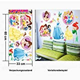 Weksi Princess Little Mermaid Butterfly Flowers Collection Wall Stickers Decals Home Wall Art Mural for Girls Room