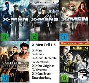X Men Alle Teile
