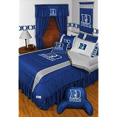 Duke Blue Devils QUEEN Size 14 Pc Bedding Set (Comforter, Sheet Set, 2 Pillow Cases,... by Sports Coverage