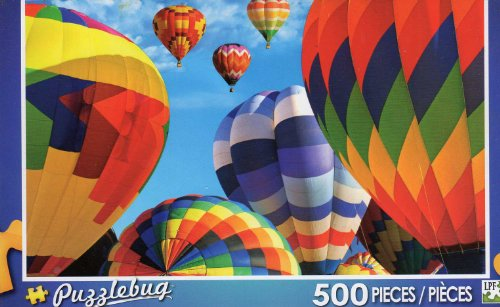 Hot Air Balloon Fiesta - New Mexico - Puzzlebug - 500 Pc Jigsaw Puzzle - NEW