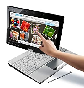 ASUS Eee PC T91MT-PU17-WT Tablet White Netbook - 5 Hour Battery Life (Windows 7 Home Premium)
