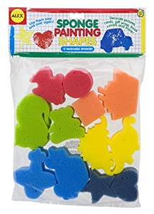 ALEX Toys Artist Studio Sponge Painting Shapes