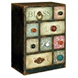 Gifts and Accessories With Our Blessings 9 Drawer Chest, width 18cm