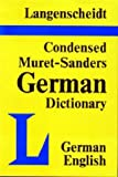 img - for Condensed Muret-Sanders German-English Dictionary Vol. 2 by Muret-Sanders (1982-07-01) book / textbook / text book