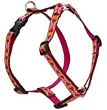 Lupine 3/4-Inch Heart 2 Heart 20 to 32-Inch Roman Harness for Medium Dogs