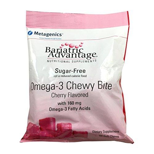 Bariatric Advantage Sugar-Free 160mg Omega-3 Chew - Cherry (Bariatric Advantage Essential compare prices)