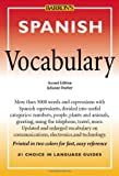 img - for Spanish Vocabulary (Barron's Vocabulary) book / textbook / text book