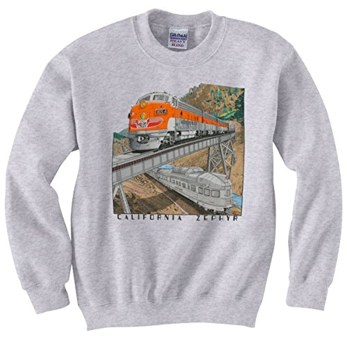 Kids Small Sweatshirt (6-8) Western Pacific California Zephyr [128] front-250285