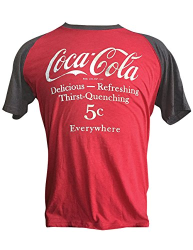 Coca Cola 5 Cents Everywhere T-Shirt Vintage Refreshing Look