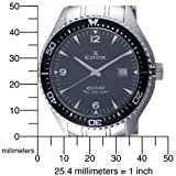 Edox Men's 70157 3 NIN C-1 Diver Watch
