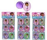 Disney Doc McStuffins Ring Cupcake Toppers x 18 pcs