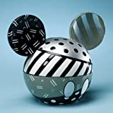Disney by Britto from Enesco Mickey Head Black and White Covered Box 4.