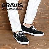 (グラビス) GRAVIS スニーカー SLYMZ SUEDE BLACK gvs-1592 16287100001 28cm