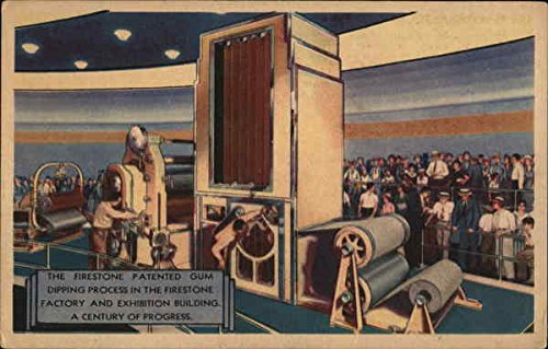 firestone-patented-gum-dipping-process-1933-chicago-world-fair-original-vintage-postcard