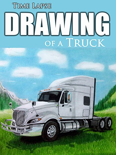 Clip: Time Lapse Drawing of a Truck