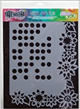 Ranger Dyan Reaveley39s Dylusions Stencils 9 by 12-Inch Dotted Flowers