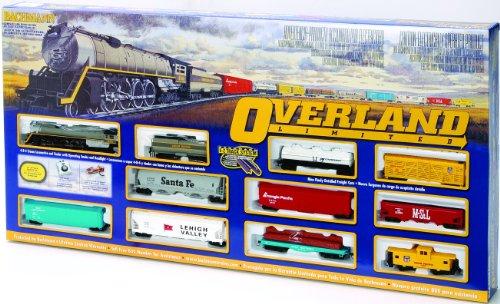Imagen de Bachmann Trains Overland Limited Ready - To - Ejecutar Escala Ho Juego de tren