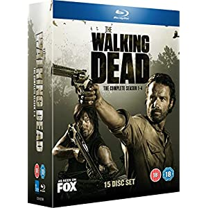 The Walking Dead - Seasons 1-4 [Blu-ray] [Import anglais]